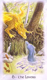 The Celtic Dragon Tarot - 6 - The Lovers