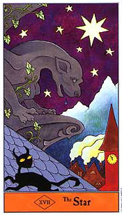 The Halloween Tarot - XVII - The Star