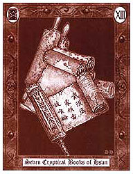The H.P. Lovecraft Tarot - Tomes XIII - Seven Cryptical Books of Hsan