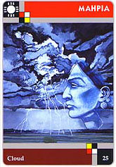 The Lakota Sweat Lodge Cards - 25 - Mahpia - Cloud