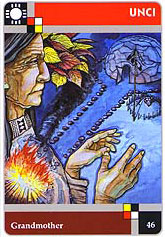 The Lakota Sweat Lodge Cards - 46 - Unci - Grandmother