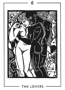 The Light and Shadow Tarot - 6 - The Lovers
