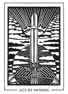 The Light and Shadow Tarot - Ace of Swords