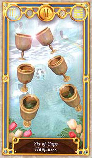 Quest Tarot - Six of Cups