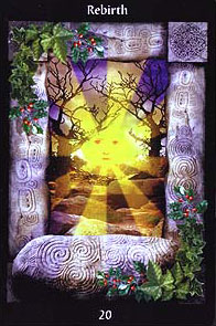 The Sacred Circle Tarot - 20 - Rebirth