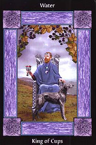 The Sacred Circle Tarot - King of Cups