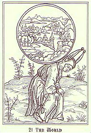 Ship of Fools Tarot - 21 - The World