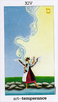 Sun and Moon Tarot - XIV - Temperance