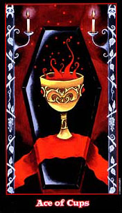 The Vampire Tarot - Ace of Cups