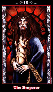 The Vampire Tarot - IV - The Emperor