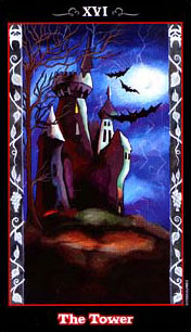 The Vampire Tarot - XVI - The Tower