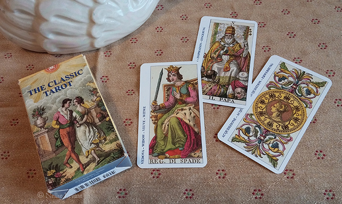 cards from the Classical Tarots or Classic Tarot