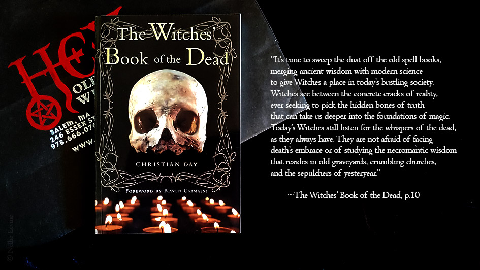 The Witches' Book of the Dead, by Christian Day; a review